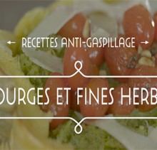 courge et fines herbes